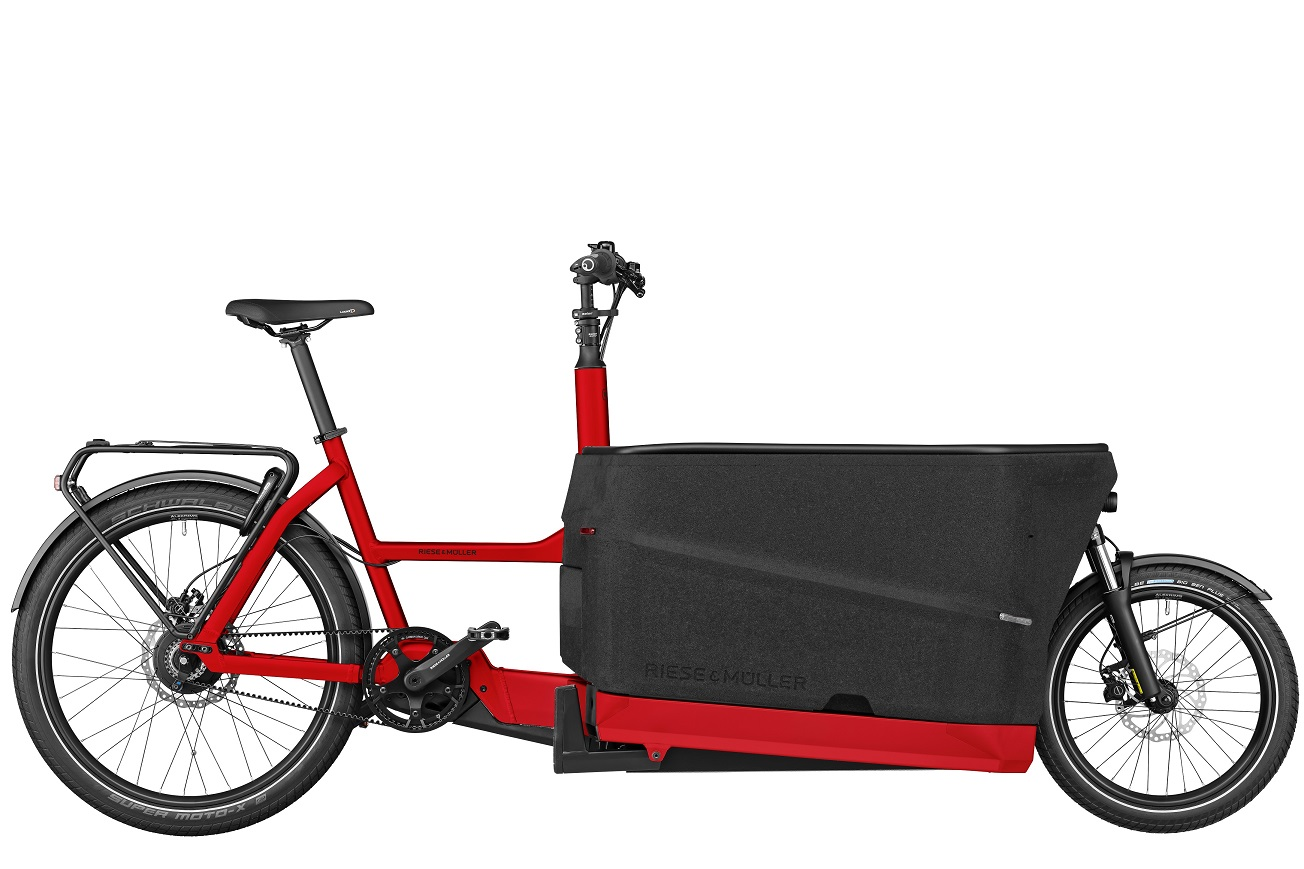 Riese&Müller R&M Packster70 vario rot 1250W